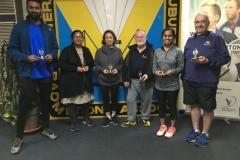 2019 Term 1 Pennant C3 Grade Runners Up Tigers Monish Nair, Sunita Sunaman, Junko Keirstead, Kevin Tidball, Preethi Balan, George Plumb