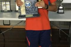 2019 U13 Australian Championships Boys Singles Winner Shrey Dhand