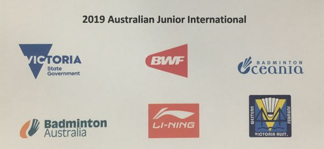 2019 Australian Junior International