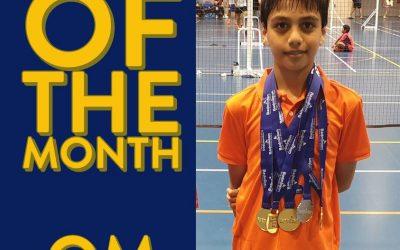 Congratulations to WSBA Member, Om Neelam, Badminton Australia's Athlete of the Month