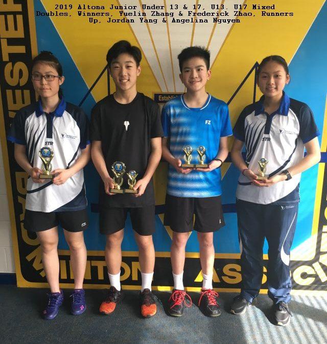 2021 WSBA Altona Junior Tournament U11, U14, U17